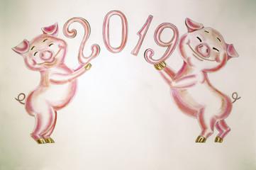 Поздравление с Новым 2019 годом.