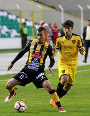 Soccer Football - The Strongest v Penarol- Copa Libertadores - Hernando Siles Stadium, La Paz, Bolivia