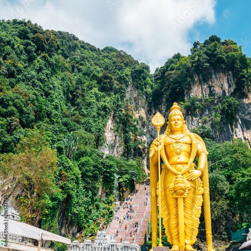 """Malaysia Murugan: """"Batu Caves Lord Murugan Statue In Kuala Lumpur, Malaysia"""