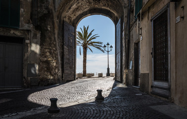 Fotomurales - City of Italy Ventimiglia