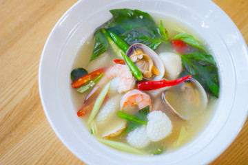 Thai spicy soup