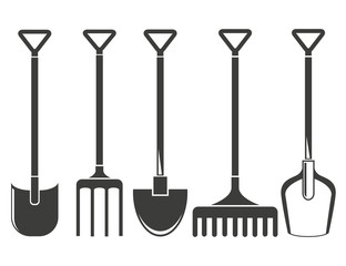 handled gardening tools