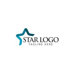 Star Logo Vector Template Design