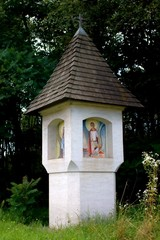 Roadside shrine, Bildstock, Marterl, in Carinthia Austria