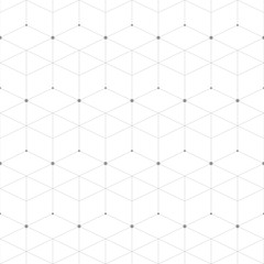 Abstract geometric pattern dot with rhombuses. Repeating seamless background ,illustration