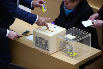 Election of a Bavarian state prime minister in Munich