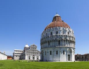 Renaissance Baptistery in Pisa Italy