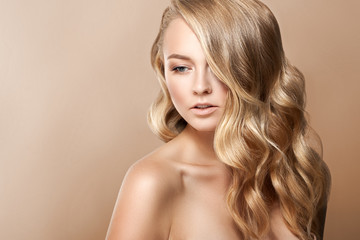 Beauty Woman Portrait. Beautiful Spa Girl Perfect Fresh Skin. Youth and Skin Care Concept.