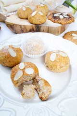 Sweet delicious homemade almond cookies