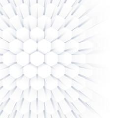 Abstract geometric background, hexagonal texture. Big data visualization and communication background. Graphic background illustration.
