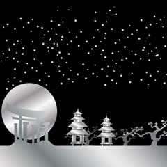 Japan Bild Silber