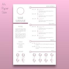 Elegant Curriculum Vitae Template