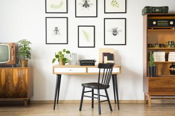 Vintage home office interior