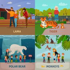 Zoo Visitors Concept
