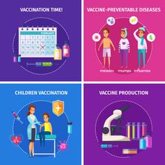 Vaccination Immunity Design Concept