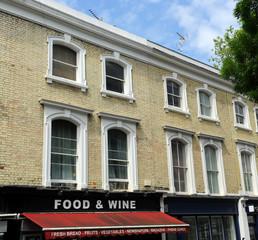 Small food and wine store, London, United Kingdom