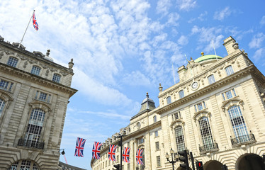 Piccadilly Circus and Regent Street, London, United Kingdom
