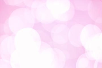 Beautiful pink bokeh circles background