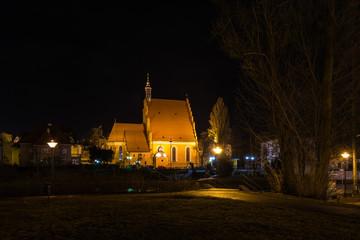 Noc w mieście Bydgoszcz, Polska