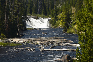 Lewis Falls, Yellowstone National Park, Wyoming