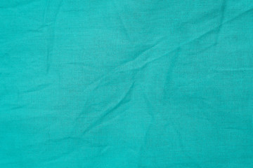 blue wrinkled fabric texture