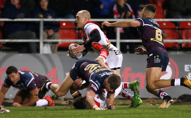 Super League - St. Helens vs Leeds Rhinos