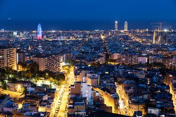 Barcelona at dawn