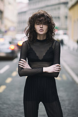 Fashion portraits on the streets