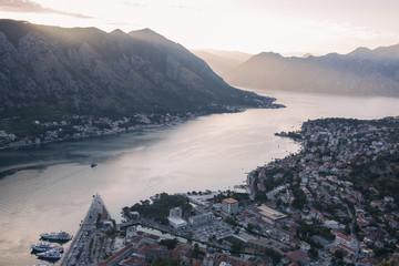 Beautiful Kotor bay in Montenegro