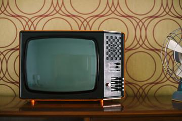 Vintage TV on a Shelf