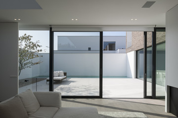 Contemporary residential house