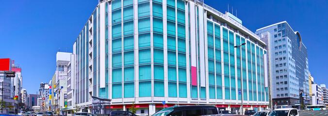 静岡駅前の風景(パノラマ)