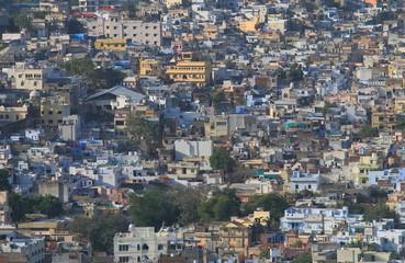 Udaipur cityscape India