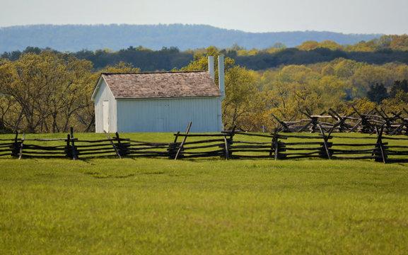 Barn, Manassas Battlefield