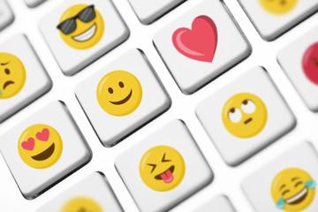 Smileys Emojis Emoticons Tastatur Tasten