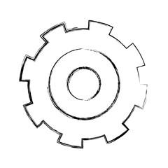 grunge gear engineering process industry machine