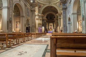 la chiesa di san gottardo al corso  a milano