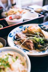 Okinawan cuisine, Pork dish