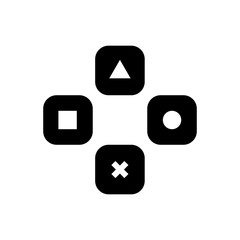 gaming filled vector icon