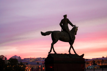 Monument on the red square