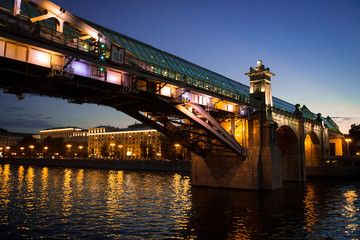 River bridge, Moscow, Kievskaya