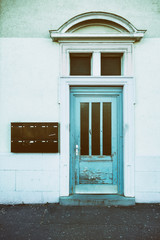 Hauseingang alte Holztür