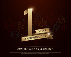 Th anniversary in gold and diamonds bling bling vector clip art
