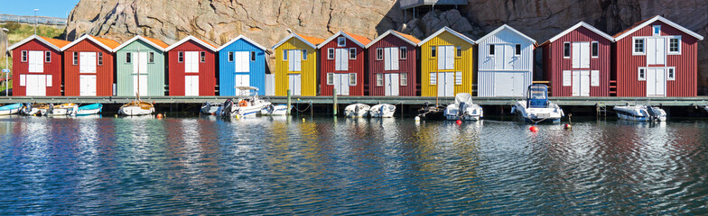 Fototapeten Skandinavien Smögen, Schweden
