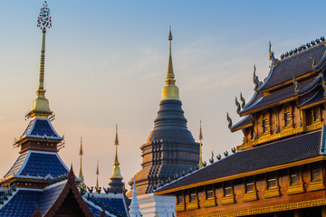 most important temples is the Wat Chedi Luang located in the ancient walled part of Chiang Mai city