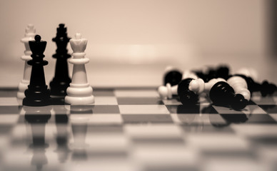 chess, game, strategy, king, white, board, pawn, black, competition, business, chessboard, queen, battle, play, success, knight, piece, leadership, pieces, challenge, win, victory, move, leader, wood