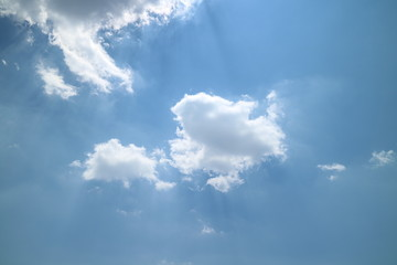 Beautiful sky and clouds