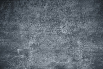 Grunge wall texture, monochrome with 8% blue