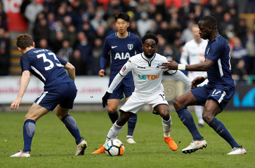 FA Cup Quarter Final - Swansea City vs Tottenham Hotspur