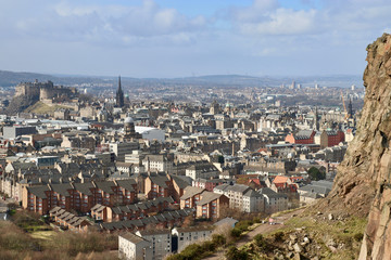 Stadtpanorama Edinburgh